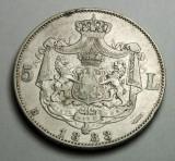 5 lei 1883 dreptunghi la coroana