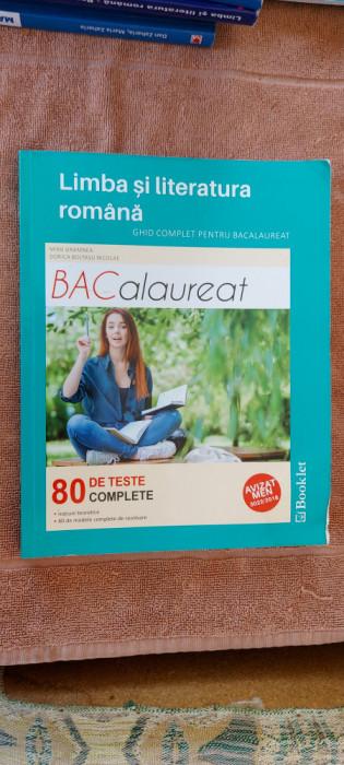 LIMBA SI LITERATURA ROMANA BACALAUREAT 80 DE TESTE COMPLETE GRAMNEA NICOLAE