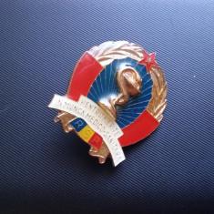 Insigna Pentru merite in munca medico sanitara R.S.R.