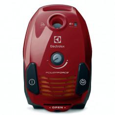 Aspirator cu sac Electrolux EPF6ANIMAL, 700W, filtru H12 lavabil, accesorii Pet, perie Miniturbo, Rosu