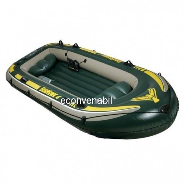 Barca de Pescuit Gonflabila Seahawk IV 4 Persoane Intex 68350