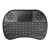 Mini tastatura Bluetooth cu touchpad pentru Smart TV, PS3, PC, Android, Linux, Rii i8