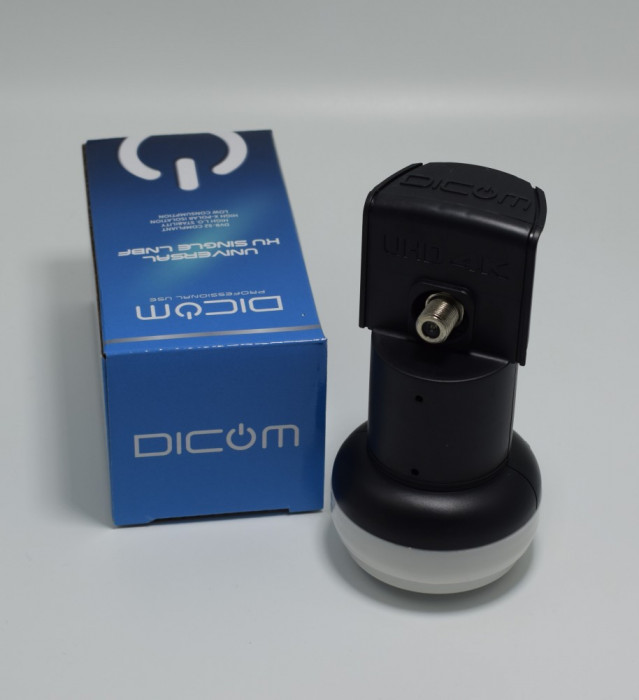 Lnb single / 1 iesire DICOM 4k