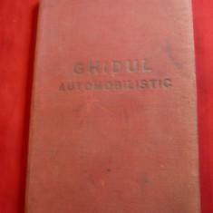 Ghidul Automobilistic 1958 -Ed. Cailor Ferate si Dir.Topografica Militara -Harti