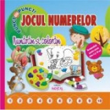 Jocul numerelor - numaram si coloram (Punct cu punct)