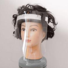 Masca viziera de protectie din PET de 0.8mm, 250x250mm