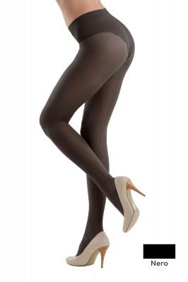 Ciorap Modelator cu Chilot Dantelat Style 20 Den - Nero, 2-S Standard foto