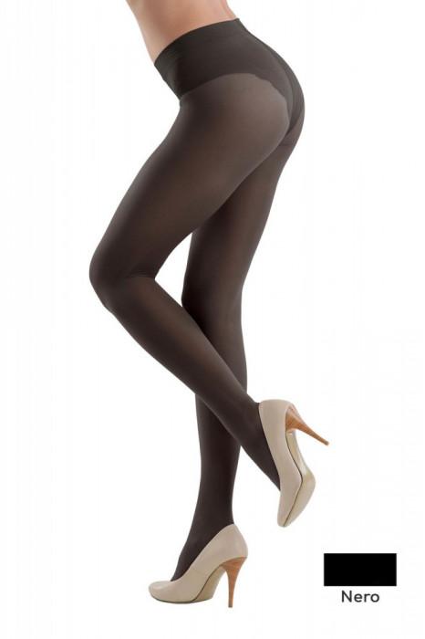 Ciorap Modelator cu Chilot Dantelat Style 20 Den - Nero, 2-S Standard