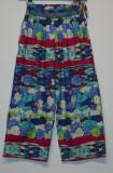 Pantaloni multicolori KENZO, Trei-sferturi, Multicolor, 38