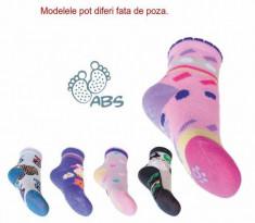Sosete antiderapante cu silicon pentru fetite - Diverse Modele (Marime... foto