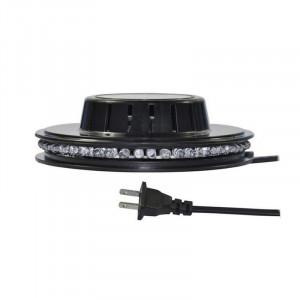 Bec cu leduri pentru plafon, 8 W, 48 x LED, RGB
