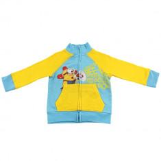 Hanorac Minions, bumbac, Albastru deschis/Galben, pentru copii