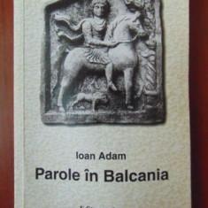 Parole in Balcania