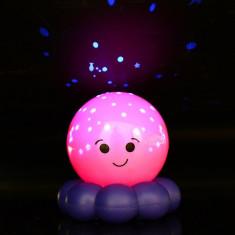 Lampa de veghe pentru copii Dream Star Octopus