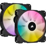 Ventilator pentru carcasa Corsair iCUE SP140 RGB ELITE Performance 140mm Dual Fan Kit