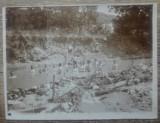 Barbati facand baie, nud// Romania, inceput sec. XX