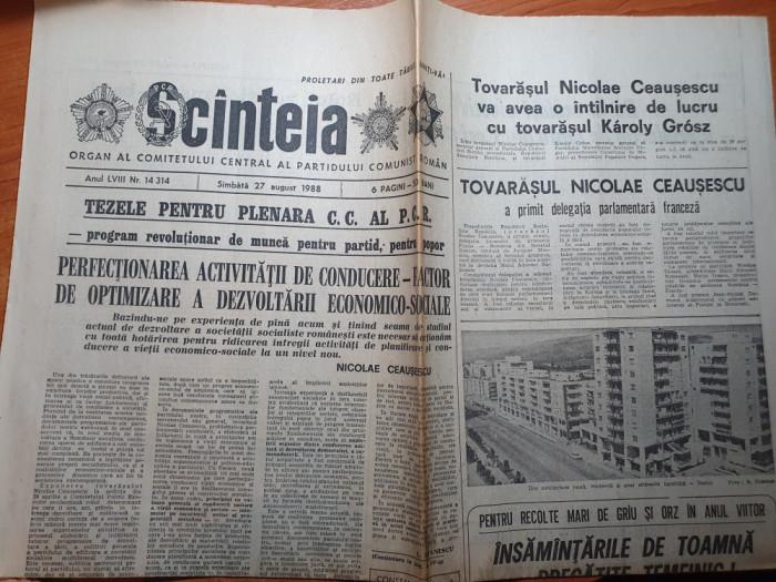 scanteia 27 august 1988-articol uzina semanatoarea bucuresti