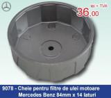 Cheie pentru filtre de ulei motoare Mercedes-Benz 84mm x 14 laturi