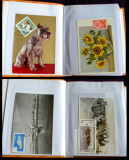 Album Romania 1959-2007 - colectie 90 maxicarduri, carti maxime, cp ilustrate, Romania de la 1950