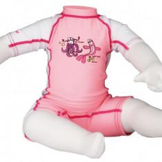 Junior Suit costum inot UV pink 92