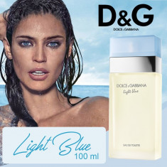 Dolce & Gabbana LIGHT BLUE WOMAN 100 ml | Parfum Tester+ CADOU