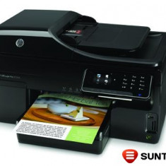 Imprimanta multifunctionala color cu jet HP Officejet Pro 8500A AiO CM755-64001 cu cartuse goale si printhead-uri infundate, fara alimentator