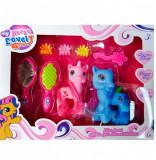 Set ponei fetite + accesorii, 4-6 ani