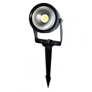 SPOT LED EXTERIOR 5W 3000K ALB CALD