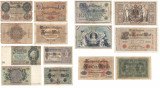Lot de 7 bancnote -Germania
