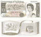 Saint Helena Insula Sfanta Elena 1 Pound 1981 UNC