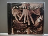 BON JOVI - KEEP THE FAITH (1992/ MERCURY/GERMANY) - CD NOU/SIGILAT/ORIGINAL/ROCK