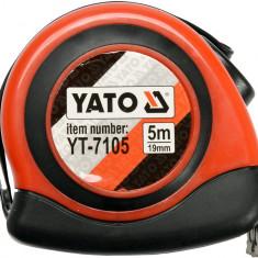 Ruleta carlig magnetic 5 m x 19 mm YATO