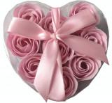 Cutie cu 9 trandafiri roz, Cadouri pentru femei
