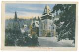 4965 - SINAIA, Prahova, Pelisor Castle - old postcard, CENSOR - used - 1917