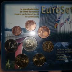 Set de monetarie LUXEMBURG 2002 !!!