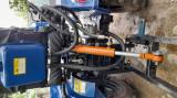 Vand tractor+plug cu doua freze+caruta