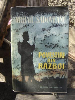 POVESTIRI DIN RAZBOI - MIHAIL SADOVEANU foto