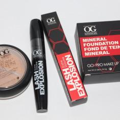 Pachet cosmetice: Pudra minerala + Rimel gene Outdoor Girl