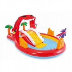 Piscina gonflabila Pentru Copii cu tobogan - Red Dragon