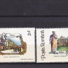 ROMANIA 1992 LP 1303  ANIVERSARI  EVENIMENTE   SERIE   MNH