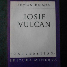 LUCIAN DRIMBA - IOSIF VULCAN