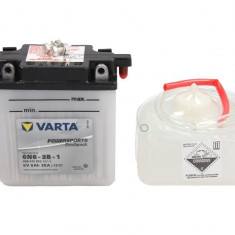 Varta baterie maxiscuter 6N6-3B-1 100x57x110 6V 6Ah 30A Yamaha