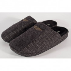 Papuci de casa gri pentru barbati/barbatesti (cod 192-1801507)