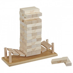 Joc Jenga construieste pe pod
