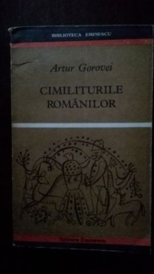 Cimiliturile romanilor foto