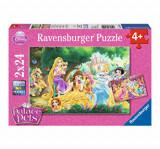 Puzzle Disney Princess Palace Pets, 48 piese, Ravensburger