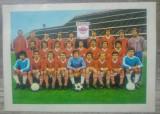 Calendar FC Rapid Bucuresti 1981