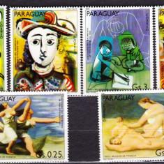 DB Arta Paraguay Picturi Picasso serie MNH