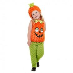 Costumatie Dovleac Halloween Copii 1-2 Ani - Carnaval24