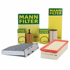 Pachet Filtre Aer+Polen+Ulei+Combustibil Mann Filter Audi TT 8J 06-15